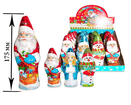 7b3e1b2ecee5 Новогодняя фигурка Ассорти 60гр 24шт Снегурочка, Снеговик, Дед Мороз  Новогодние скидки (стар