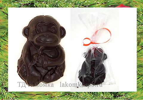 шоколадные фигурки в виде обезьян